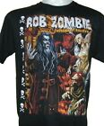 REprint Rob Zombie  Musician Cotton Black For Men T-shirt S-4XL YY420 image