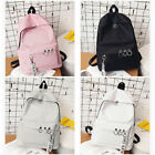 Fashion Women Canvas School Bag Girl Cute Backpack Travel Rucksack Shoulder Bags image