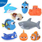 Soft Baby Bath Tub Toys Kids Bathing Bathtub Swimming Children Floating Animals