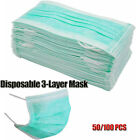 Medical Mouth Covering 3 Layer Filter Disposable Clinical Protective 1-100PCS US