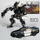 Transformers LS-02 Masterpiece Movie MPM-05 Barricade Police TOY Action Figure 9 For Sale