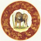 Lion Jungle Animal Framed Select-A-Size Waterslide Ceramic Decals Xx image