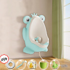 Baby Potty Frog Children Stand Hook Pee Trainers Pots Toilet Training Urinal Boy image