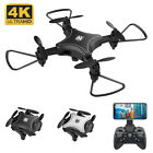 KY902 Mini Foldable Camera Drone 4K HD WiFi FPV Wide Angle Flow RC Quadcopter US