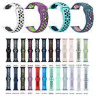 Silicone Band Strap For Apple Watch 1/2/3/4/5 iWatch Sports Series 38/42mm image