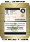 USA ID COLLECTOR CARDS <<CIA>> Real Chip and Magnet Stripe