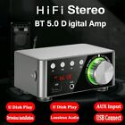 docooler HIFI 5.0 Digital Amplifier Mini Stereo Amp USB/AUX/Bluetooth Input 100w