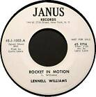 LENNELL WILLIAMS 45 RPM - Rocket in Motion