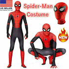 US Spider-Man: Far From Home Jumpsuits Cosplay Costume Adults Spandex Bodysuits