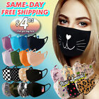 Kyпить Face Mask Cotton Double Layer Reusable Washable Fashion Printed Mask Unisex на еВаy.соm