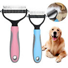 Professional Pet Dog Cat Comb Brush Grooming Undercoat Rake Comb Dematting Tool