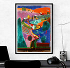 David Hockney Poster Print - Nichols Canyon - Various Sizes #Charity