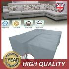 Furniture Cover Corner Reverse L Shape Sofa + Rectangle Table Waterproof Grey