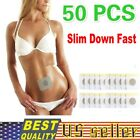 50pcs/Lot Weight Loss Navel Sticker Magnetic Slim patch Sheet Fat Burning Patch $6.59 USD on eBay