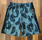 New With Tags Mens Under Armour Gym Loose Muscle Athletic Logo Shorts