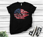 The American Flag Star Wars Millennium Falcon Unisex T Shirt Black Cotton S-6XL $22.99 USD on eBay