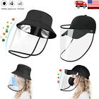 Kyпить Anti-Saliva Splash Dust Proof Cap Full Face Shield Safety Protection Clear Hat на еВаy.соm