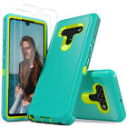For LG Stylo 6 K51 Phone Case Shockproof Clear Cover With Glass Screen Protector