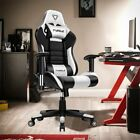 Furgle Gaming Chair Racer Home Office Computer Chair Pu Leather Recliner Seat