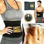 Men Women Waist Trimmer Belt Sweat Wrap Tummy Stomach Weight Loss Fat Burner US