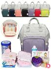 Kyпить Mommy Maternity Baby Diaper Bag Large Capacity Mom Backpack Baby Nappy Tote Bag на еВаy.соm