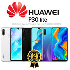 NEW HUAWEI P30 LITE DUAL SIM 128GB 4G LTE UNLOCKED PHONE SEALED BLACK BLUE WHITE