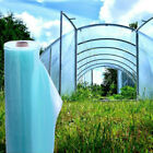 GREENHOUSE PLASTIC COVER CLEAR 4YR POLY FILM 4-8 WIDTHS X VARIOUS LENGTHS SALE