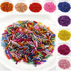 Kyпить 600Pcs/lot 2x6mm Long Glass Bugle Tube Seed Spacer Beads for DIY Jewelry Making на еВаy.соm
