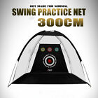2M/3M Outdoor Golf Practice Net Driving Chipping Hitting Cage Training Aid Net