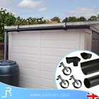 Mini Shed Roof Gutter Kit Garden Guttering System Straight Downpipe 4FT 6FT 8FT