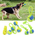 Dog Toy Chews Cotton Rope Knot Ball Grinding Teeth Odontoprisis Pet Toy Large HY