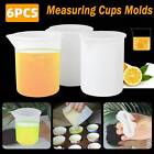 3/6 Epoxy Silicone Mixing Measuring Cups UV Resin Mold DIY Casting Jewelry Tools