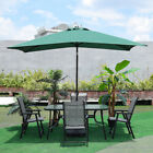 5 Pieces Table And Chairs Set Garden Outdoor Patio Summer Furniture Round Glass