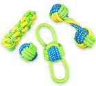 Ideal Pet Interactive Chewing Rope Ball Toys For Small Medium Dogs Puppies Cats