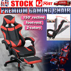 Gaming Chair Office Executive Computer Chairs Seating Racing Recliner Au Stock
