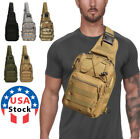 Kyпить Men Backpack Molle Tactical Sling Chest Pack Shoulder Bag Outdoor Hiking Travel на еВаy.соm