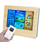 In/Outdoor Digital LCD Wireless Weather Station Calendar Thermometer Clock