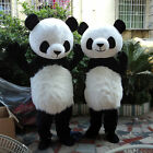 Adult Chinese Panda Mascot Costume Cosplay Xmas Fancy Dress Halloween Outfit Hot