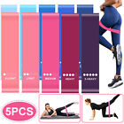 5/10x Resistance Bands Loop Set Body Exercise Workout CrossFit Yoga Fitness Band
