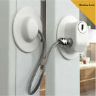 Child Safety Lock Window Kids Securitys Refrigerator Door Lock Limit w/ Key