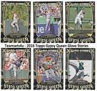 2016 Topps Gypsy Queen Glove Stories Baseball Set ** Pick Team ** See Checklist on Ebay