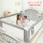 Upgraded Toddlers Baby Guard Bed Rail Toddler Safety Adjustable Kids Infant Bed
