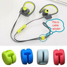 Earphones Accessory Flat Wire Portable Cable Winder Lightweight For Power