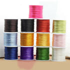 1 Reel 80m Leather sewing waxed thread wax 0.6mm NEW