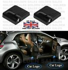 1 Pair Wireless Led Car Door Light Durable Logo Ghost Shadow Laser Projector Uk
