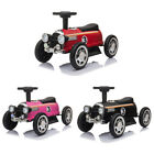 6V Electric Kids Classic Ride On Toy Racecar Speedster Birth Gift w/Lights Music