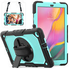 """For Samsung Galaxy Tab A 8.0"""" 10.1"""" 2019 Tablet Hard Protective Stand Case Cover"""