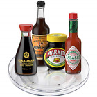 """Lazy Susan Turntable Food Storage Container Spinning Organizer Rack 9"""" Round"""