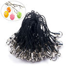 100pcs Strap Lariat Cell Phone Braided Diy Rope Lanyard Cords Jewelry Findings