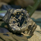 SMAEL Mens Sport Tactical LED Digital Camo Analog Watch Quartz Multi-function US
